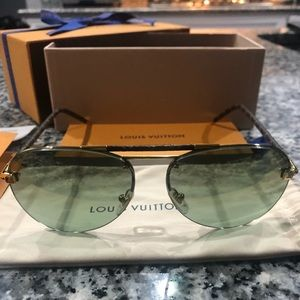 Authentic Louis Vuitton Clockwise Canvas Shades